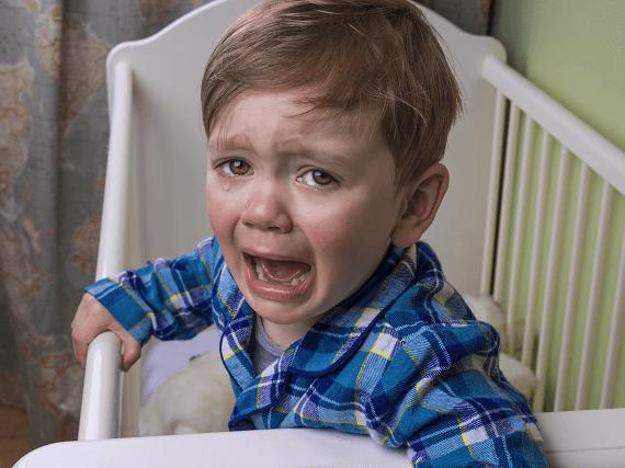 Dieťa plače