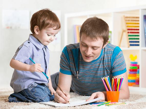 Kreslenie s detičkami