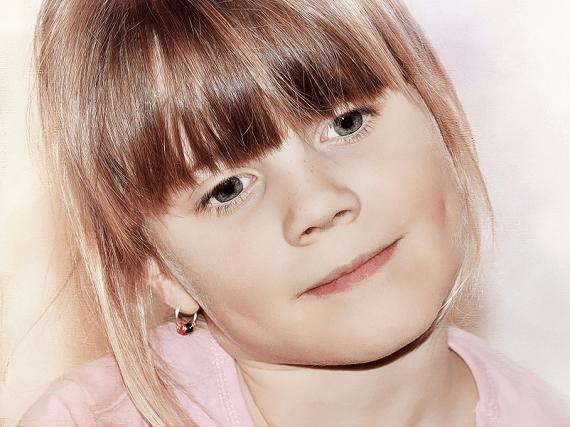 Detské klenoty - náušnice